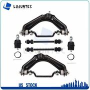 6pcs Suspension Complete Control Arm Ball Joint Sway Bar For Ford Mercury