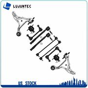 And Rear 10x Lower Control Arms Suspoension Kit For 01-07 Volvo S60 V70