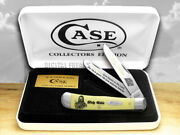 Case Xx Holy Bible 1 Chronicles Yellow Synthetic Trapper 1/500 Pocket Knives 1
