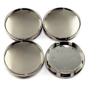 4x 61mm/56mm Wheel Center Cap For A3 A4 A5 S5 Tt Legacy Impreza 15 Msw Type 25