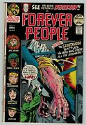 Forever People 9 Deadman 52 Page Giant Jack Kirby Dc Comics Bronze Age Vf Nm