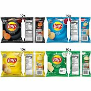 Layand039s Potato Chip Variety Pack 1 Ounce Pack Of 40 Free Shipping