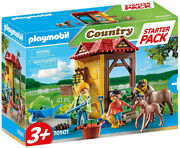 Playmobil Country - Starter Pack Horse Farm 70501 Kids 3 Yrs Old And Up