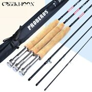 Catch Cork Fishing Carbon Fly Rod Fiber 3/4 5/6 7/8 Fast 7ft Action New