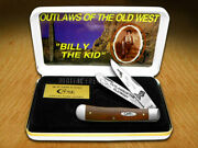Case Xx Collector's Billy The Kid Chestnut Bone 1/500trapper 2 Pocket Knives