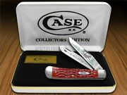 Case Xx Bow Hunter Red Bone Trapper 1/600 Stainless 1 Pocket Knife Knives