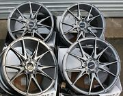 19 Grey Speed Alloy Wheels Fits Land Rover Discovery Range Rover Sport