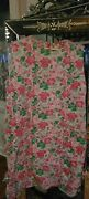 Lily Pulitzer Hibiscus Pink And Green Shift Scalloped Collar Classic Bows 14
