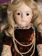 Vintage Antique Extremely Rare Bru Repro Large Doll