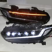 Full Led Turning Lights For 18-20 Year Honda Accord Led Headlights Front Lamps
