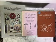 Lot Of 3 Odd Curious Money Numismatic Book Hans Schulman Charles Opitz Mort Reed