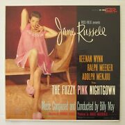 Jane Russell Billy May The Fuzzy Pink Nightgown 1957 Soundtrack Lp Cheescake