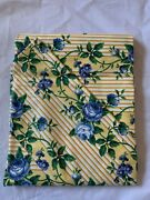 Longaberger Fabric Liner Rose Trellis For Brick Buffet Warmer New Without Bag