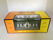 30-9087 Mth Railking Country Passenger Station O Scale W/interior Lighting