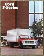 Ford F-series Usa Commercial Sales Brochure Jan 1977 Fdt-7717 1/77