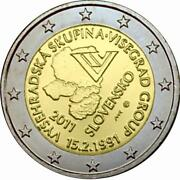 Slovakia Commemorative Coin Special Coins 2011 St Visegrad Group Loose