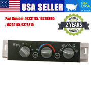 Ac Heater Control Panel Switch For 96-00 Chevy Gmc C K 1500 2500 3500 9378815 Us