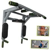 Pull Up Bar Wall Mounted - Easy To Install Wall Mount Pullup With Pro Jumping