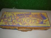 Vintage1960and039s Marx Robin Hood Castle Set Play Set With Box