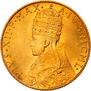 [906581] Coin Vatican City Pius Xii 100 Lire 1950 Ms65-70 Gold Km48