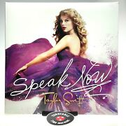 Taylor Swift Speak Now Vinyl Record Lp - New And Sealed - Hard To Find