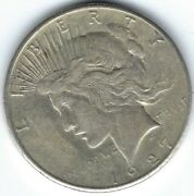 1927-s 1 Peace Dollar Semi-key Will Fit In Most Sets