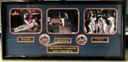 Mets World Champions 1986 Picture Frame Certificate Of Authenticity Included