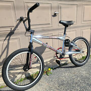 Vintage Early Mid School Old Bmx Haro Track And Trail Tr 2.1 Chrome Bike Gt Dyno