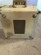 Vintage Newcomb Solid State Edt-15c Portable Suitcase Record Player