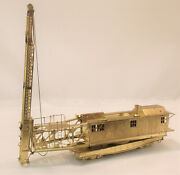 Ho Overland Models Brass Union Pacific Self Propelled Pile Driver 903113 New