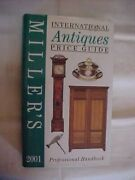 Miller's International Antiques Price Guide 2001 Vol Xxii Values Identification