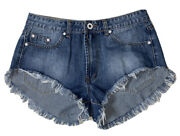 Preowned- We Are Denim Wear Cut-off Shorts Womens Size Euro 42/ Us 10