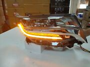 Three Projector Lens Led Front Lamps For Alphard Mpv Led Headlights Lights Ld