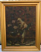 A Fine Orientalist Painting - Signed A Womersley 1920