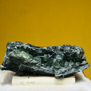 8140g Natural Stereoscopic Green Fluorite Crystal Mineral Cubic Mineral Specimen