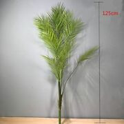 Artificial Large Rare Palm Tree Green Lifelike Tropical Plants Indoor Plastic