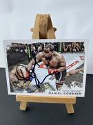 Daniel Cormier Signed Rookie Topps Ufc Moment Of Truth Trading Card