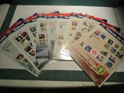 Niplot 9 20th Century In Usps Postage Stamps-set 1900and039s-20-90 Missing 1910and039s