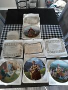 A Collection Of Four Sound Of Music Plates With Certificate Of Authenticity