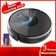 Robot Vacuum Cleaner Triple Route Home Wifi App Map Remote Draw Virtual Control