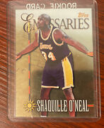 Shaq Shaquille Oandrsquoneal 1998-99 Topps Emissaries E8 Los Angeles Lakers Card