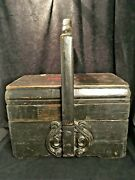 Antique Chinese Wooden Lunch Box