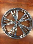 Misc Pm Icon Chrome 23 Wheel Tire Rotors Package 08-17 Touring Pm-ico-23dd
