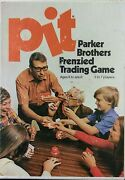 Vintage Pit Frenzied Trading Card Game By Parker Bros. 1973 Complete