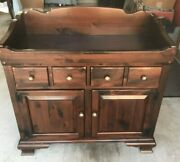 Ethan Allen Antique Pine Old Tavern 38 Dry Sink Local Pickup Only Baton Rouge