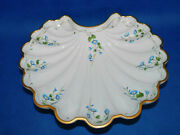 Herend Nyon Pattern Shell Serving Plate Porcelain
