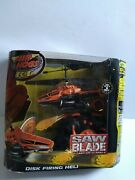 Air Hogs Saw Blade Rc Helicopter Disk Firing Heli, Brand New Sealed, Rare