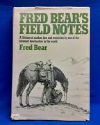 Fred Bearand039s Field Notes 1976 Signed 1st Edition Fred Bear Personal Bookplate