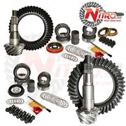 For 11-17 Chevy/gmc 2500/3500hd W/ Duramax Diesel 4.11 Fr And Rr Gear Package Inc