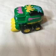 John Deere Toy Lawn Mower Tracter 3 1/2 Inches Long